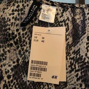 H&M Tops - H&M Short Wrapover Blouse NWT